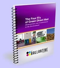 The Four R's of Green Direct Mail