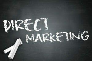 "Blackboard ""Direct Marketing"""