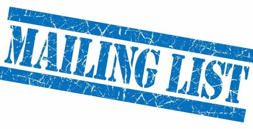 customer mailing list for marketing