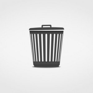 Trash Can Icon © Aleksandr Bryliaev - Fotolia