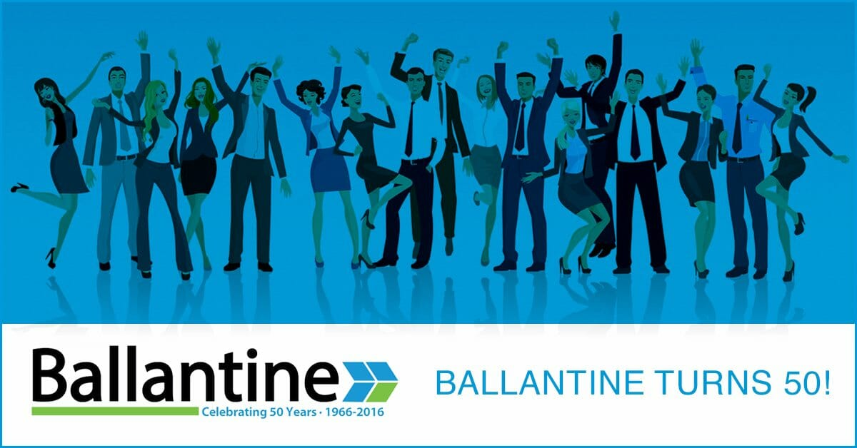 Ballantine Celebrates 50 Years of Providing Print and Digital Services