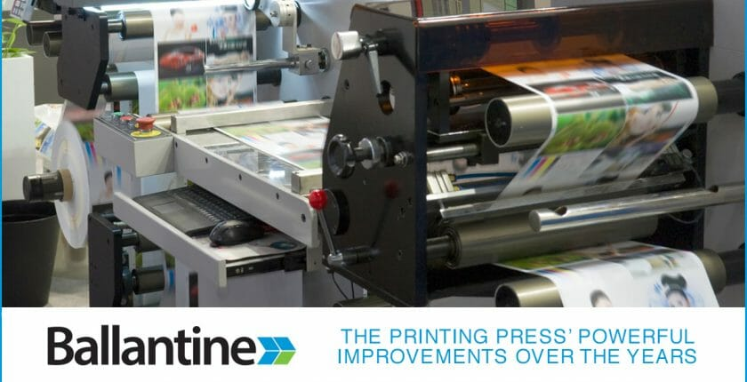 The Printing Press' Powerful Improvements Over The Years