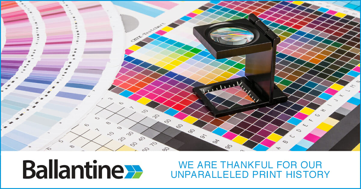 We Are Thankful For Our Unparalleled Print History