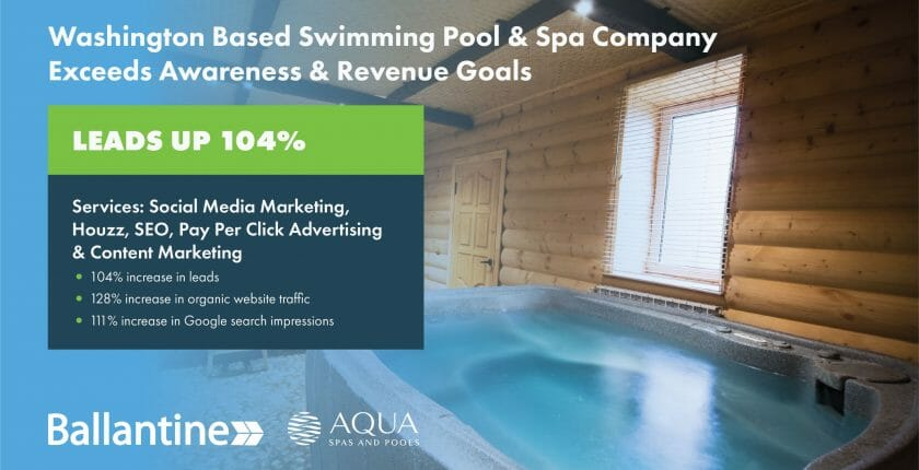 Swimming Pool Contractor Case Study