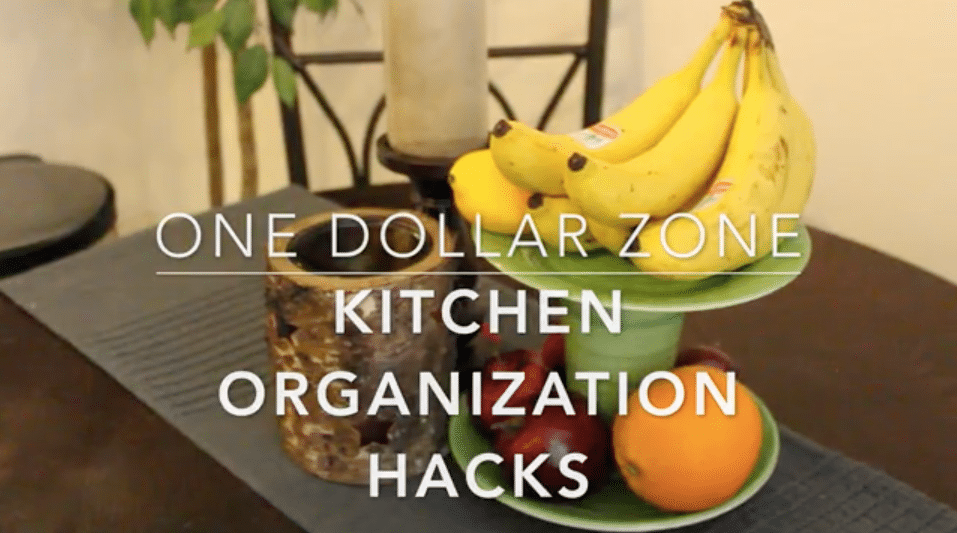 one dollar zone! kitchen organization