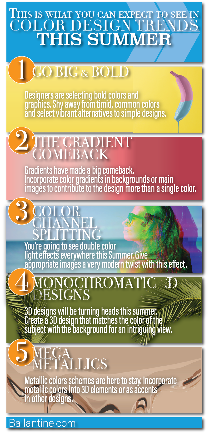 This Is What You Can Expect To See In Color Design This Summer [Infographic]