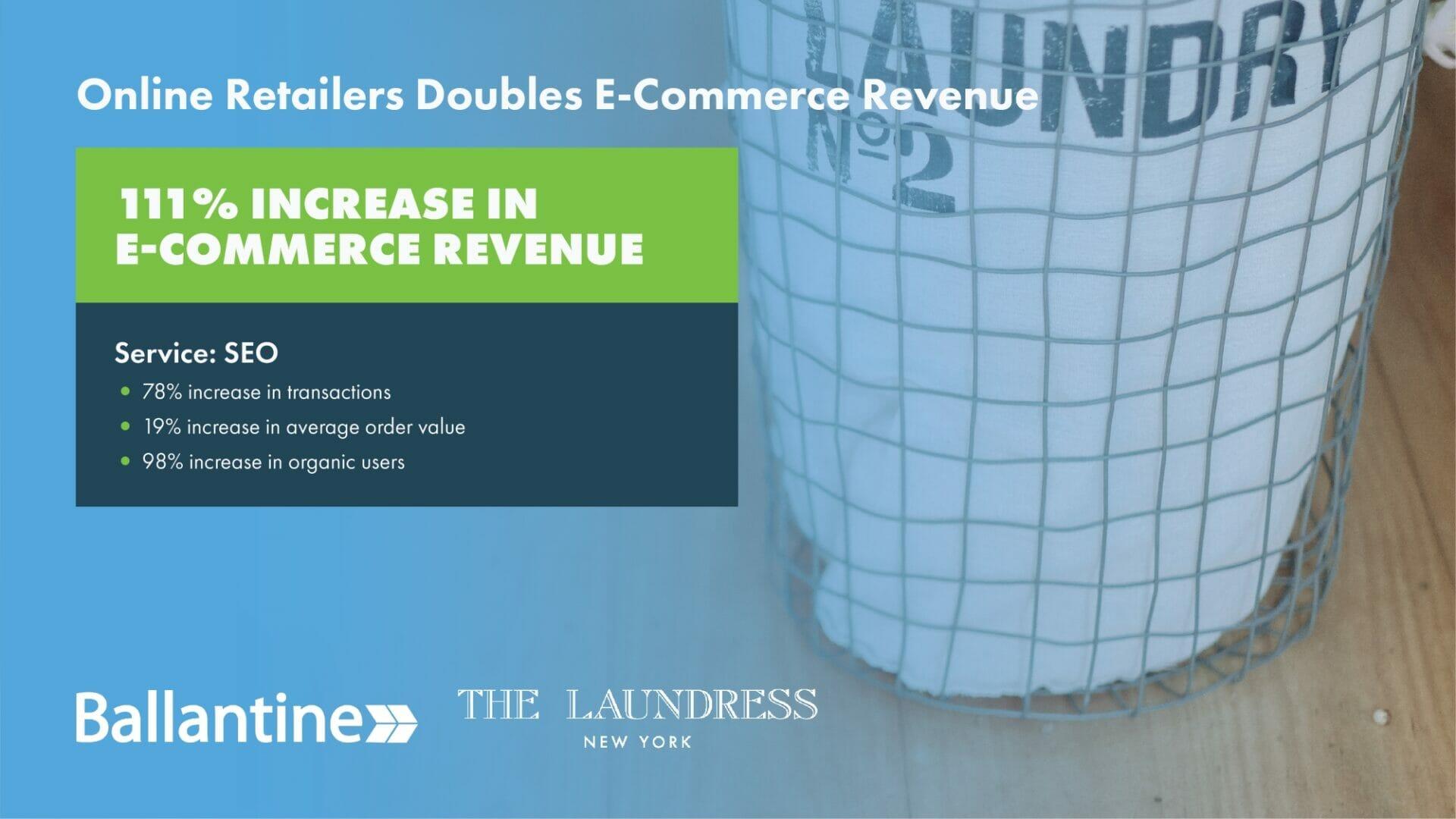 E-Commerce SEO Case Study
